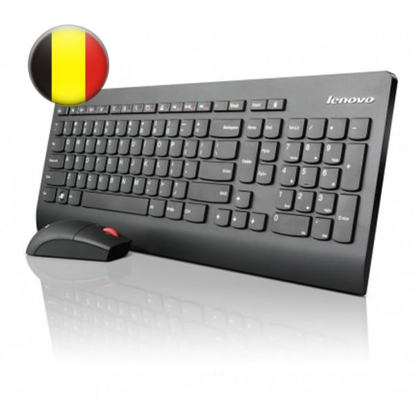 Lenovo Ultraslim Plus Wireless Keyboard & Mouse (0A34042)