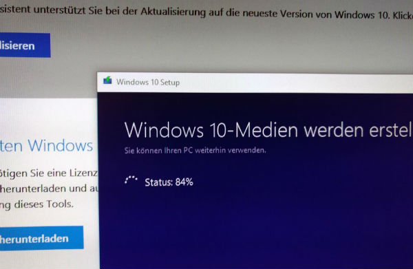 Erstellung eines Windows Installtionsmediums