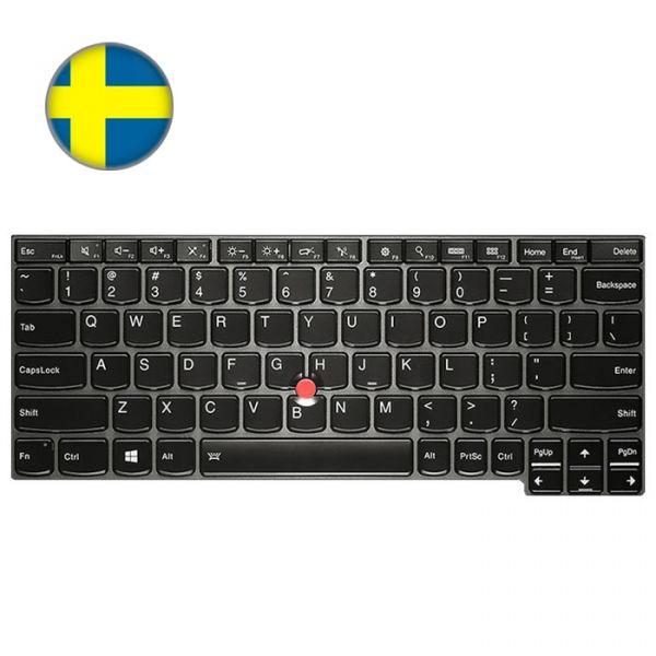 Lenovo Tastatur X240 X250 X260 (04X0203, 04X0241) Finisch/Schwedisch