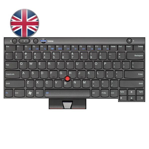 Lenovo Notebook Tastatur für ThinkPad L/T/X und W Serien 04W3054 UK-Englisches Layout