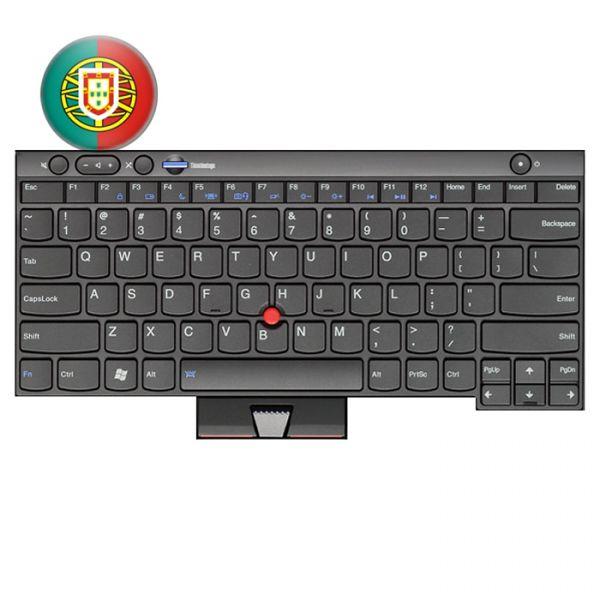 Lenovo Notebook Tastatur für ThinkPad L/T/X und W Serien 04W3047 Portugiesisches Layout