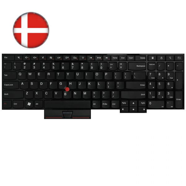Lenovo Notebook Tastatur für ThinkPad Edge E530/535 (DK)