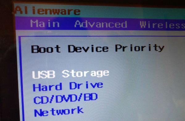 Windowsinstallation auf der neuen SSD