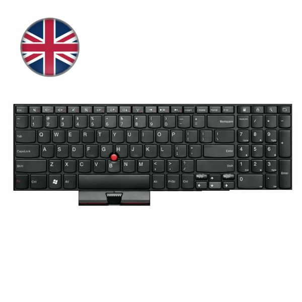 Lenovo Notebook Tastatur Edge E520/E525 04W0901 (UK)