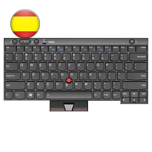 Lenovo Notebook Tastatur für ThinkPad L/T/X und W Serien 04W3035 Spanisches Layout