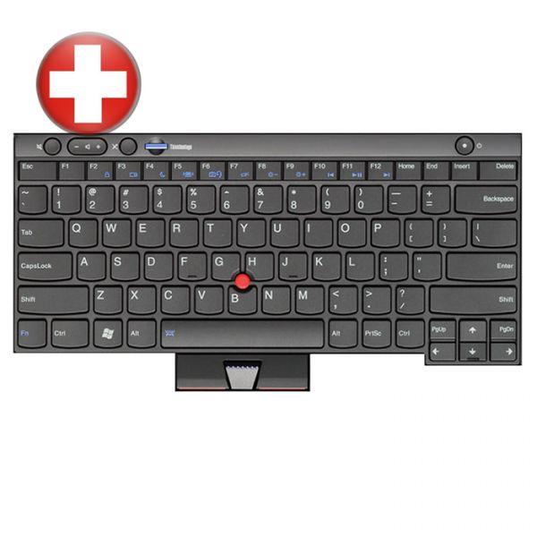Lenovo Notebook Tastatur für ThinkPad L/T/X und W Serien 04W3052 Schweizer Layout