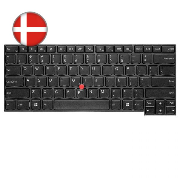Lenovo ThinkPad L/T-Serie Tastatur (DK)