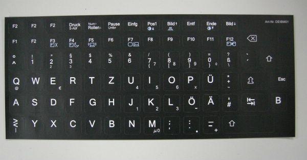 Tastatur Sticker