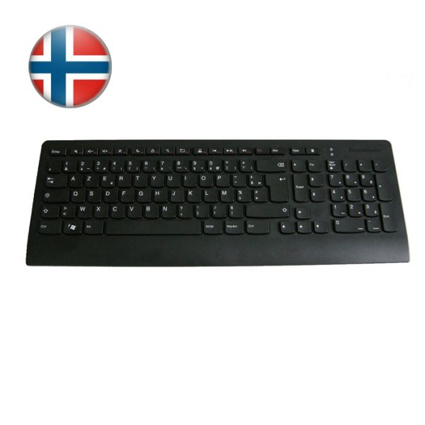 Lenovo USB Slim Tastatur 54Y9319 Norwegisches Layout