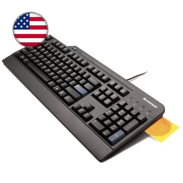 Lenovo USB Smartcard Keyboard 4X30E50999 (US)