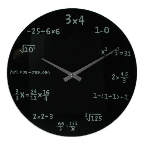 Mathematische Wanduhr