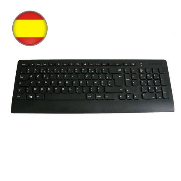 Lenovo Slim USB Tastatur 54Y9521 Spanisches Layout