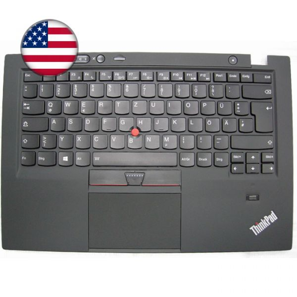 Lenovo Notebook Tastatur X1 Carbon 1st 04W2794 (US)
