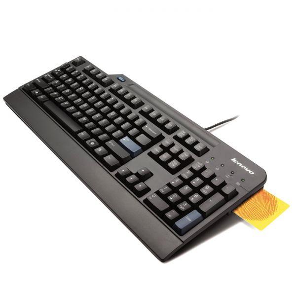 Lenovo USB Smartcard Keyboard 4X30E51034 Spanisch