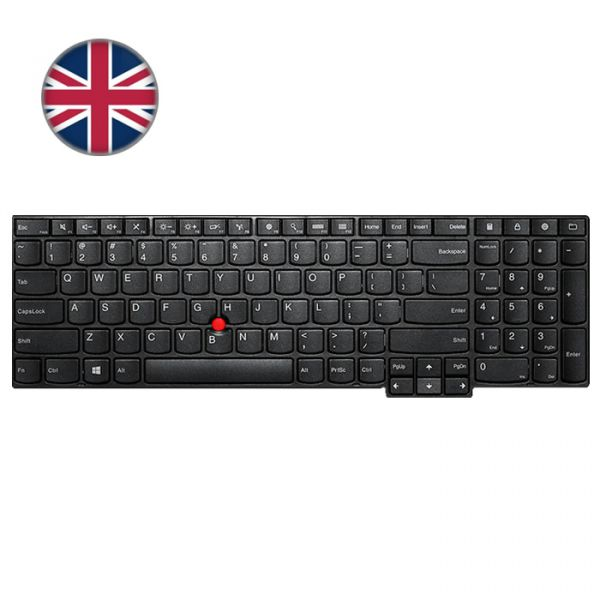 Lenovo ThinkPad T/W-Serie Backlit Tastatur (UK)
