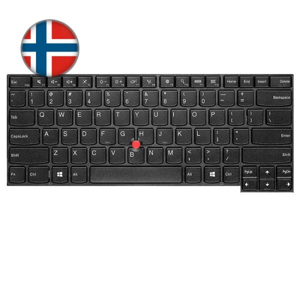 Lenovo ThinkPad L/T-Serie Tastatur (NO)