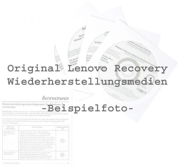 Lenovo Recovery DVD Set Windows 8 Pro / Deutsch für ThinkCentre M83 M93p