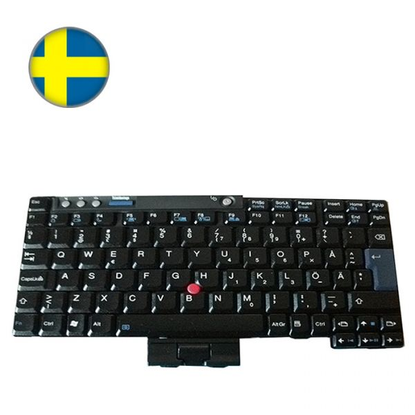Lenovo ThinkPad Notebook Tastatur X-Serie Finnisch/Schwedisches Layout