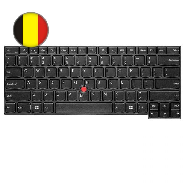 Lenovo ThinkPad T-Serie Backlit Tastatur (BE)