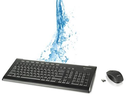 Spritzwassergeschützte ThinkPad Tastatur