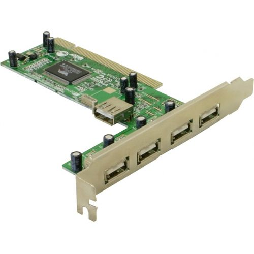DeLock USB 2.0 4+1 Port PCI-Card