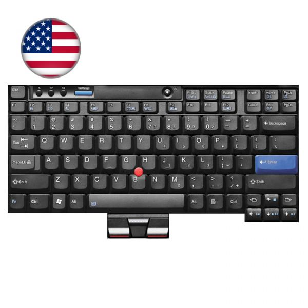 Lenovo ThinkPad Notebook Tastatur X-Serie US-Englisches Layout