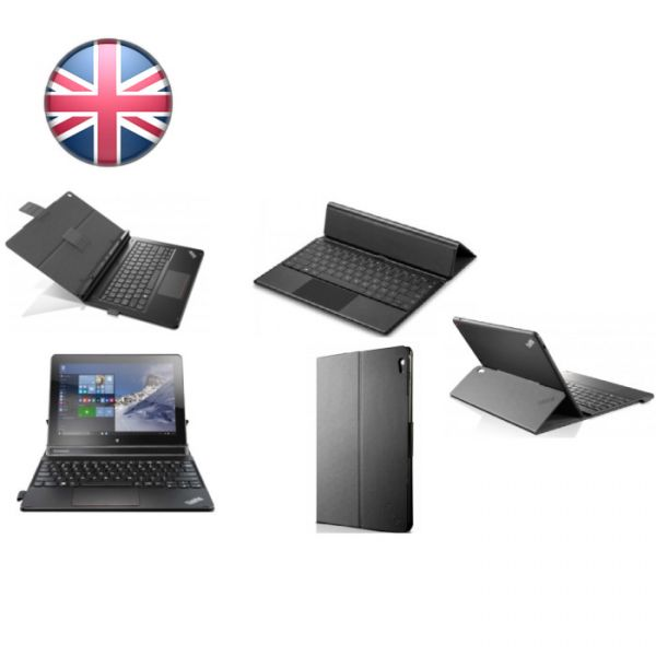 Lenovo Tastatur Tablet 10 Folio Keyboard (4X30J32082) UK-Englisch