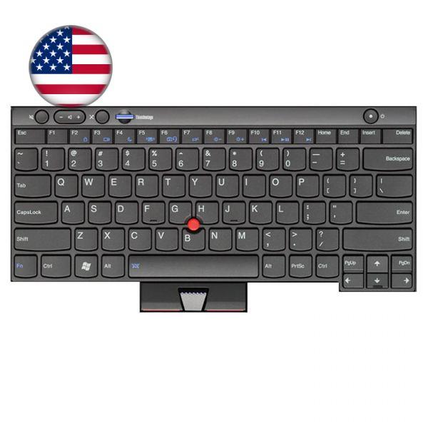 Lenovo Notebook Tastatur für ThinkPad L/T/X und W Serien 04W3025 US-Englisches Layout