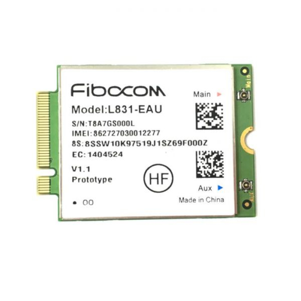 WWAN NB Fibocom L831-EAU 4G LTE